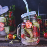 strawberry cucumber fizz