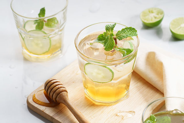 Cucumber Ice Tea